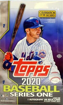 2020 Topps Series 1 Baseball Hobby Box FACTORY SEALED