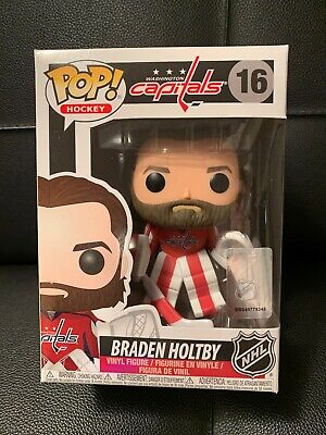 NHL 16 Braden Holtby Washington Capitals Home Jersey Pop Vinyl Funko Pop