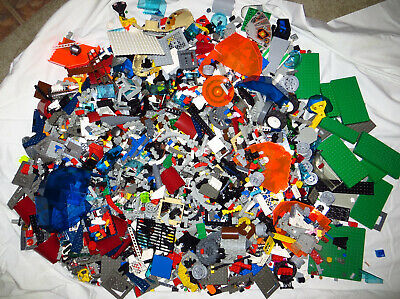 Huge Bulk Lot 15 pounds/lbs Assorted Lego Mixed Parts Pieces Free Shipping