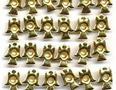 """Brass Color ANGEL 1/8"""" Eyelets Christmas Scrapbooking Card Making Stamping"""