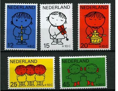 Nederland Kinderzegels 1969 Dick Bruna  932-936 Kind - POSTFRIS cat waarde €6,30