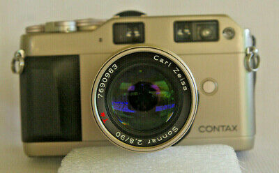 Contax G1 Green Label 35Mm Film Camera With Fantastic 90Mm F2.8 Lens