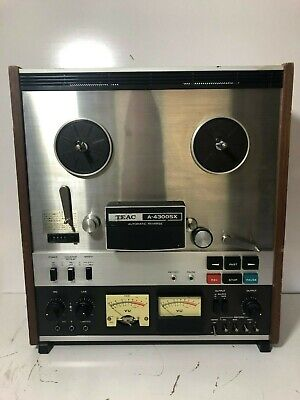 Teac A-4300SX Reel To Reel Tape Player Recorder (See Video In Use)