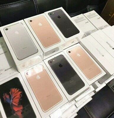 New APPLE iPhone 7 32GB 128GB Unlocked Various Colours Top Grade Box Sealed