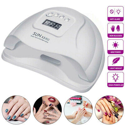SUN X5Plus 80W Nail Lamp UV LED Light Professional Nail Dryer Gel Machine Curing