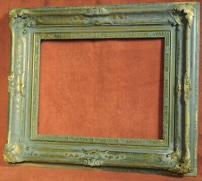 Antique Arts Crafts Picture Frame Newcomb Macklin Signed Gilt ASIS Closed CORNER