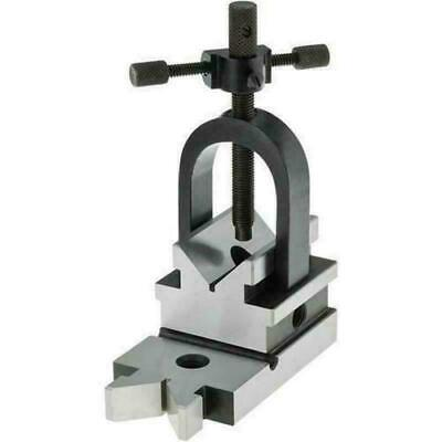 Precision V Block 3-5/8 x 1-7/8 x 1-7/8 Inch All Angle Grinding Milling Drilling