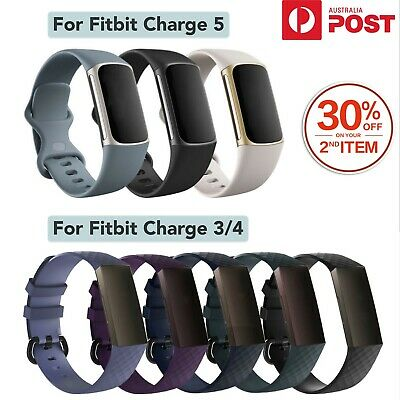 Replacement Band for Fitbit Charge 3 Band Soft Silicone Band Strap Watch Wrist