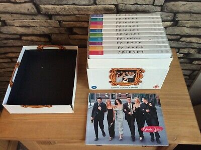 Friends - Series 1-10 - Complete (DVD Box Set) Extended, Exclusive & Unseen.