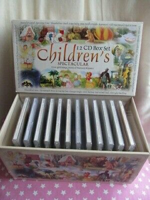 CHILDREN'S SPECTACULAR Songs, Stories & Nursery Rhymes x 12 Audio CD Box Set