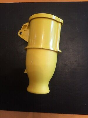 Lewden uk 110 Volt 16 Amp Yellow Electrical Industrial Work Site Female Socket