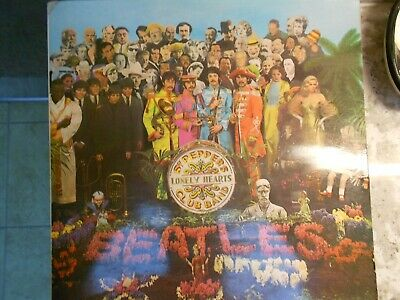 THE BEATLES - Sgt. Peppers Lonely Hearts Club Band -Original 1967 Label Misprint