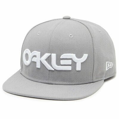 Oakley Mark II Novelty Snapback Cap Stone Grey