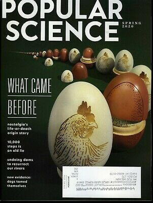 Popular Science Magazine Spring 2020 What Came Before