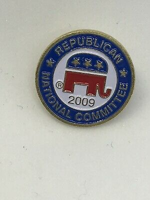 2009 Republican National Committee Pin