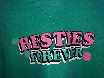 Next Girls Green Sweater age 14 Hoodie Top, only worn couple of times