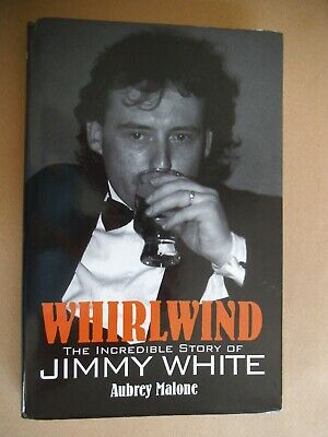 snooker legend `JIMMY WHITE signed book