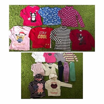 Girls Clothes 4-5 Years Bundle ( Tops, Joggers )