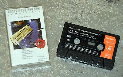 Cassette Audio Lloyd Cole & The Commotions - Easy pieces - K7