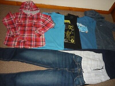 Bundle Boys Clothes age 13-14yrs Jeans Joggers Tops Hoodie  Animal Saltrock