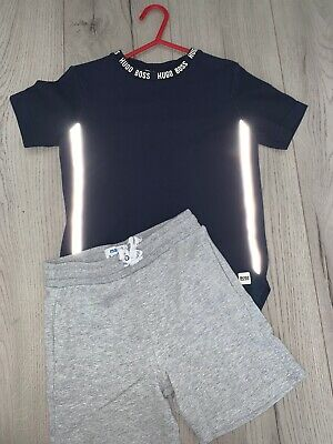 Boys Hugo Boss Top With Mayoral Shorts Age 6