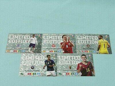 Panini Adrenalyn XL Uefa Euro EM 2020 Set 5 - 5 x Limited Edition aus Blaster
