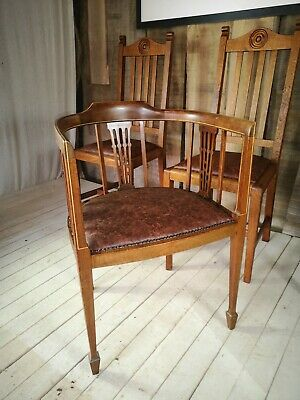 Simply Ercol Guild of Master Craftsmen Restored Antique Tub Armchair