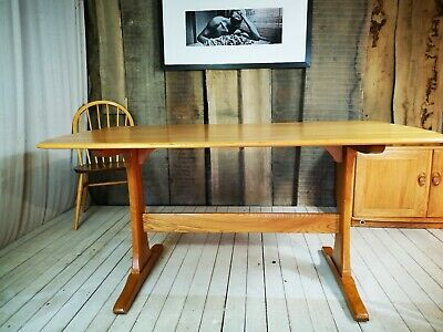 Simply Ercol Guild of Master Craftsmen Ercol Aldeburgh Plank Refectory Table