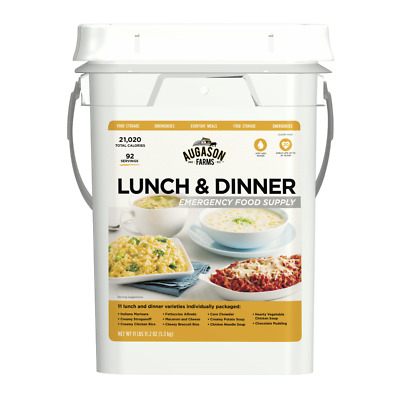 Emergency Food Bucket Storage Supply Survival Pail Lunch Dinner Kit Camping Day