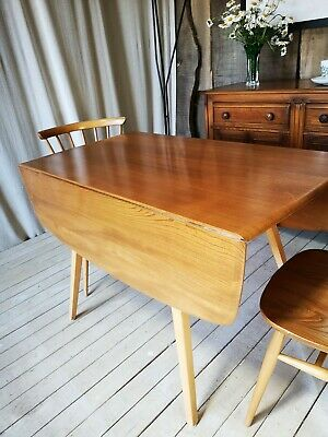 Ercol Windsor Square Drop Leaf Table By Simply Ercol Guild of Master Craftsmen