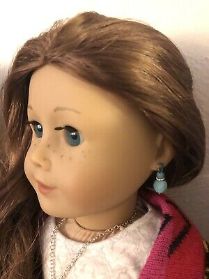 Turquoise Earring Dangles for 18 inch American Girl Dolls