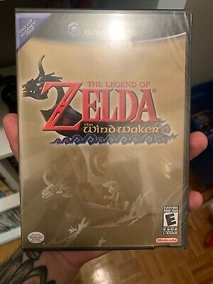 The Legend of Zelda: The Wind Waker GameCube (Nintendo, 2002) SEALED! Y-FOLD!