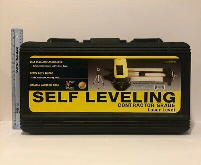 Self Leveling Contractor Grade Laser Level by Urban Gorilla Tools Heavy Duty