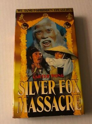 Silver Fox Massacre Vhs