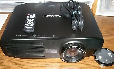 Panasonic PT-AE8000U 3D Projector with Chief ceiling mount and lamp!