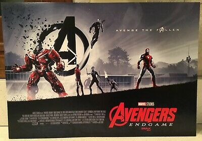 """Lot of 15 Avengers Endgame Posters AMC IMAX EXCLUSIVE 11"""" x 15.5"""" Week 1 Of 2"""