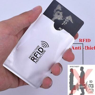 10* RFID Blocking Oyster Credit Debit Bank Card ID Theft Protection Card Sleeve