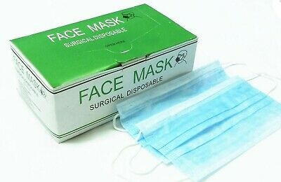 50 PCS Surgical Face Mask 3 PLY Medical Ear Loop - 99.8%protection*SHIP from USA