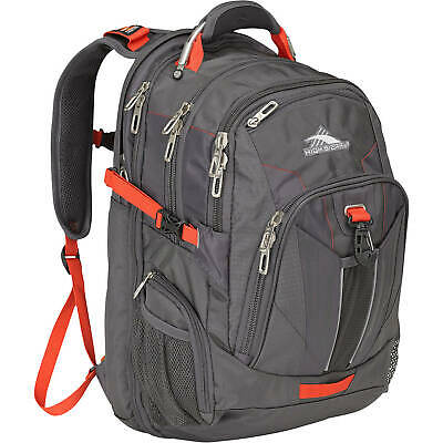 Brand New High Sierra XBT Laptop Backpack Mercury/Crimson