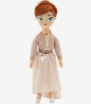 """Disney Frozen II 10"""" Anna Plush Doll NEW WITH TAGS!"""