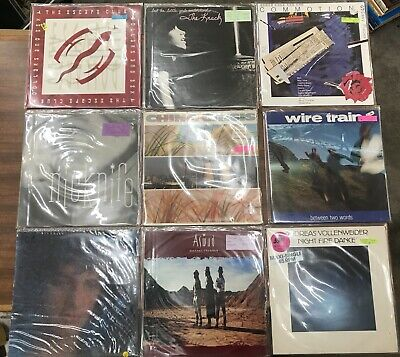 Vintage Lp Record 1980s Rock Pop Blues Lp Record Music Vinyl 80s / Each