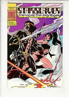 """STARSLAYER  #5 Pacific Comics  1982  Mike Grell + """"Groo"""" by Sergio Aragones"""