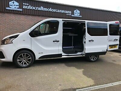 Renault Trafic / Vivaro Business plus Camper Van Day Van Motorhome Low Miles