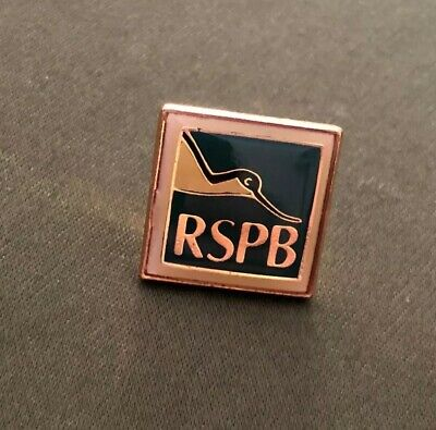 RSPB Logo Avocet members Green coloured pin badge 1.5cm