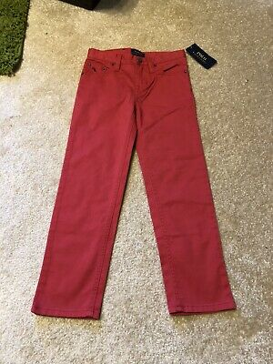 Boys Ralph Lauren Polo Red Chino Jeans Aged 5