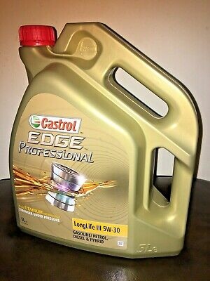 Castrol Edge Professional LongLife III 5W-30 LongLife Fully Synthetic 5 Ltrs VW