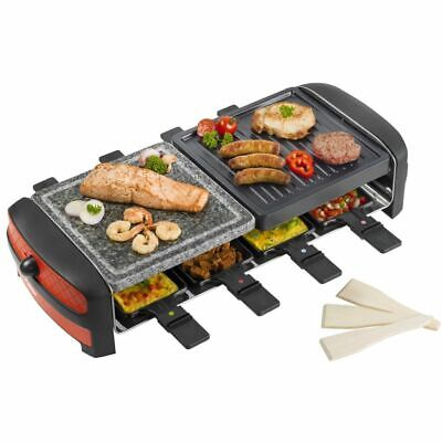 Bestron BBQ Raclette-grill  électrique ARC800 1400 W Barbecue de table