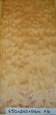 Real Wood Veneer Quilted Maple For Guitars,Crafts,Furniture,Marquetry,Cues,Boxes