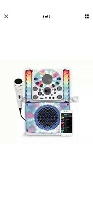 Singing Machine SML625BTW Bluetooth Karaoke System