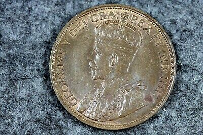 1917 - Canada One Cent Foreign Coin!! #J08987